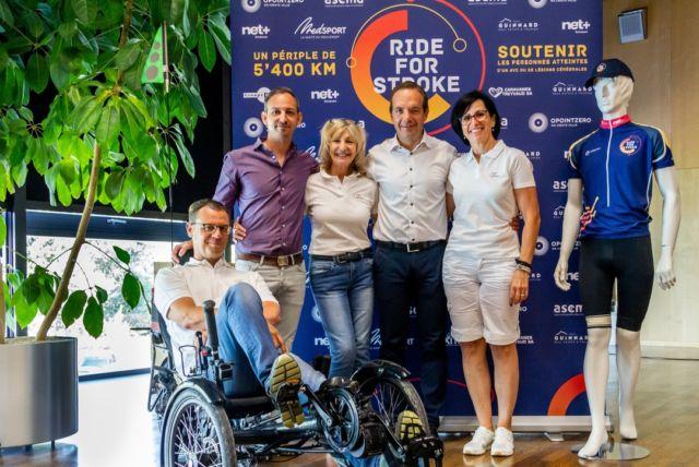 Retour en images sur le lancement officiel de #RideForStroke ! 📸✨